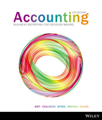 Accounting Business Reporting for Decision Making 5E+istudy Version 3 Registration Card (with new copies only)