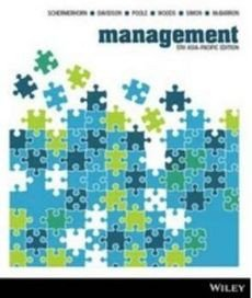 Management Asia Pacific 5E Wiley EText with iStudy Card Version 3 (not physical book)