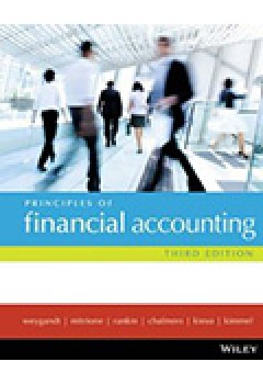 Principles of Financial Accounting 3E+wileyplus/Istudy Version 1+Let It Snow - a Combined Practice