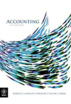 Accounting 8E Binder Ready Version+wileyplus/Istudy Version 1+Whitney's Wine Warehouse Pty Ltd: A Manual Accounting Practice