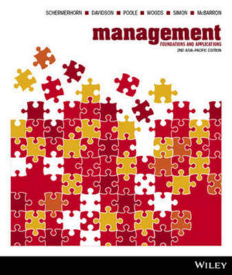 Management Foundations and Applications 2E Asia Pacific + iStudy Card Version 3 (with new copies only)