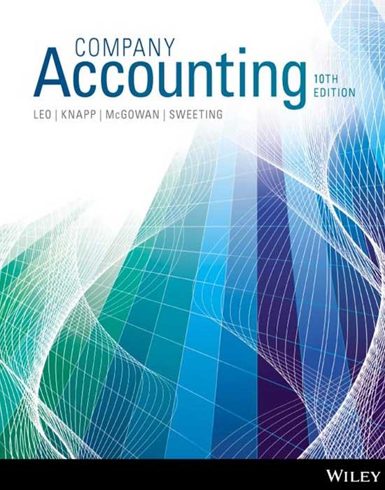 Company Accounting, 10th Edition