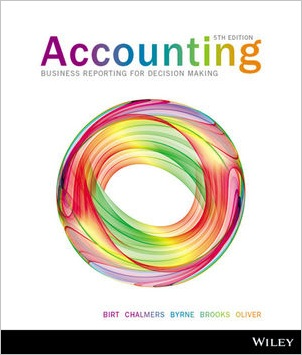 Accounting Business Reporting for Decision Making 5e+Wileyplus Stand-Alone Card