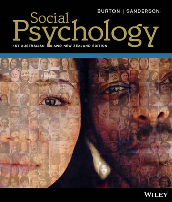Social Psychology, 1st Australian And New Zealand Edition