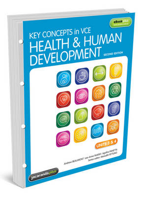 Key Concepts in VCE Health and Human Development Units 3&4 2E Flexi Saver & EBookPLUS