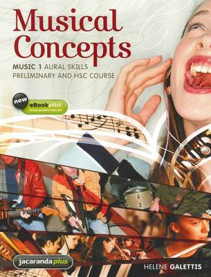 Musical Concepts Music 1 Aural Skills Preliminary and HSC Course and EBookPLUS