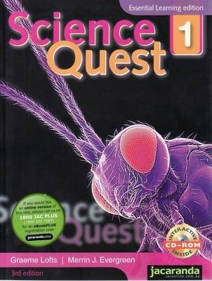 Science Quest 1 3E Essential Learning Edition + Science Quest 1 3E Student Workbook Value Pack