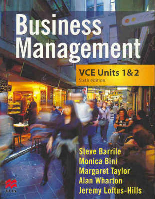 Business Management: VCE Units 1 and 2
