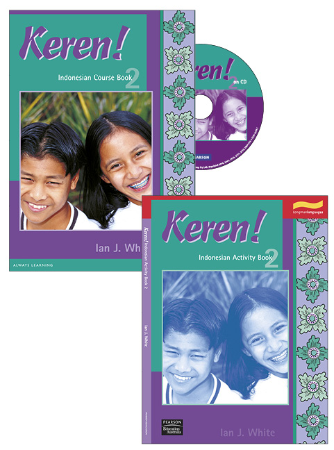 Keren! 2 Student Book and CD Pack