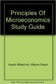 Study Guide to Accompany Principles of Microeconomics
