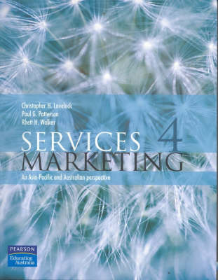 Services Marketing: An Asia-Pacific and Australian Perspective