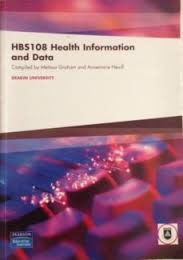 HBS108 Health Information & Data