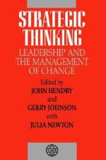 Leadership and Change Management: Leading for Change