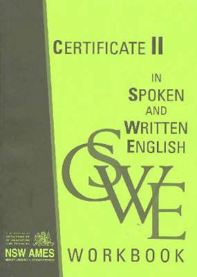 Certificate II in Spoken and Written English