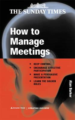 How to Manage Meetings