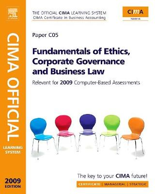 Fundamentals of Ethics, Corporate Governance and Business Law: Paper C05