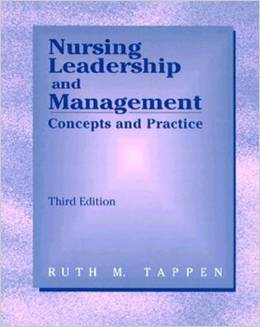 Nursing Leadership And Management Concepts And Practice 3ed