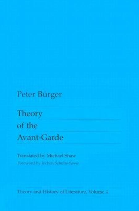 Theory of the Avant-garde