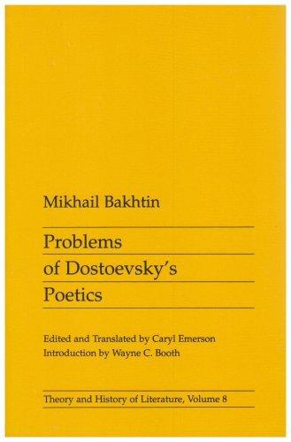 Problems of Dostoevsky's Poetics