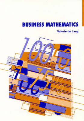 Business Mathematics: National Accounting Series Nap720