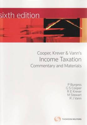 Income Taxation: Commentary and Materials