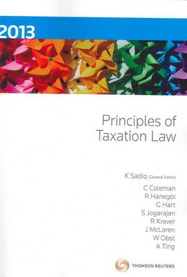 Principles of Taxation Law 2013