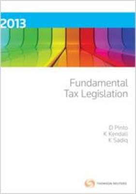 Fundamental Tax Legislation 2013