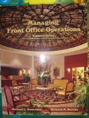 Managing Front Office Operations