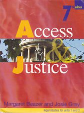 Access And Justice Legal Studies For Units 1 And 2 2ed