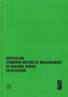 Australia Standard Method of Measuring Building Works