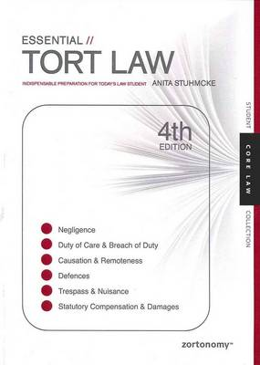 Essential Tort Law: Indispensable Preparation for Today's Law Student