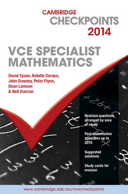 Cambridge Checkpoints VCE Specialist Mathematics and Quiz Me More