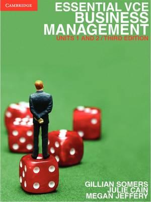 Essential VCE Business Management Units 1&2