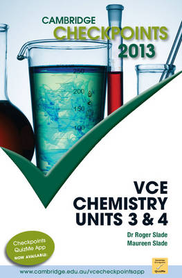 Cambridge Checkpoints VCE Chemistry Units 3 and 4 2013
