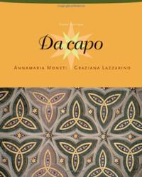 Da Capo (with Audio CD) + Da capo, Student Act Manual + Da capo Text Audio CD-ROM (Stand Alone) + Da capo SAM Audio CD-R