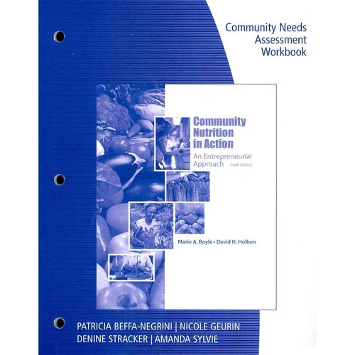 Workbook for Boyle/Holben's Community Nutrition in Action: An Entrepreneurial Approach, 6th