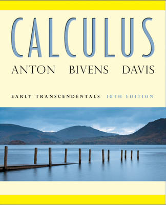Calculus Early Transcendentals 10th Edition with Wiley Plus