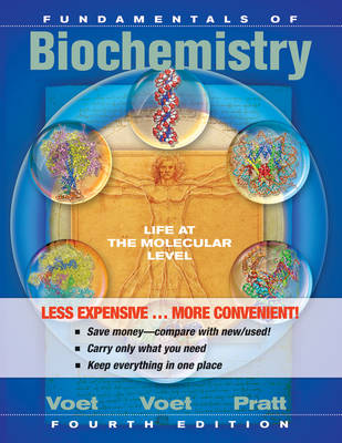 Fundamentals of Biochemistry Life at the Molecular Level 4ed (Binder Ready Version) + WileyPlus Card