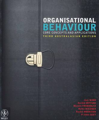 Organisational Behaviour - Core Concepts 3E Australasian Edition + Istudy Version 1 Registration Card