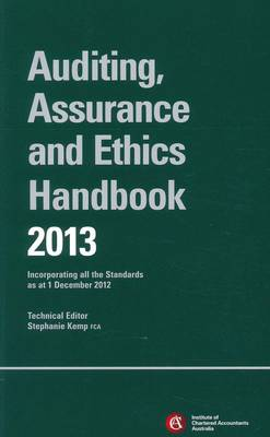 Chartered Accountants Auditing Assurance & Ethics Handbook 2013 + E-text Registration Card: 2013