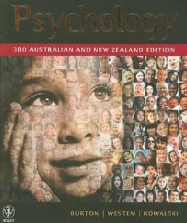 Psychology 3rd Australian and New Zealand Edition + Interactive App to Writing Essays 3E + Cyberpsych Multimedia Version 4.0