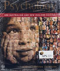 Psychology 3rd Australian and New Zealand Edition + Cyberpsych Registration Card Version 4.0