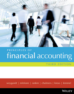 Principles of Financial Accounting 3E + Wileyplus/Istudy Version 1