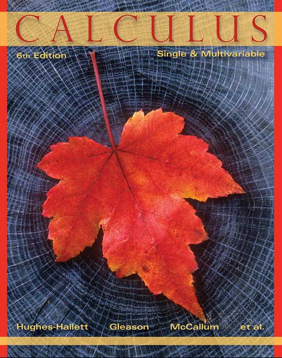 Calculus: Sing Variable & Multiple Variable, 6th Edition