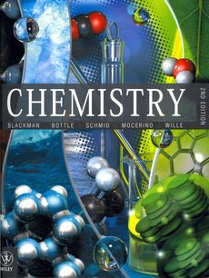 Blackman Chemistry 2E + Blackman Chemistry 2E WileyPlus Blackboard Card + SI Chemical Data 6E + SI Chemical Data 6E E-text