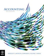Accounting 8E + WileyPlus Blackboard card + DB Dance Studio valuepack Hoggett and Nila Latimer