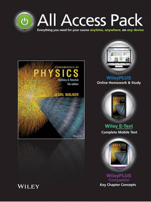 Fundamentals of Physics All Access Pack Includes E-Text, WileyPLUS Registration and WileyPLUS Companion Companion