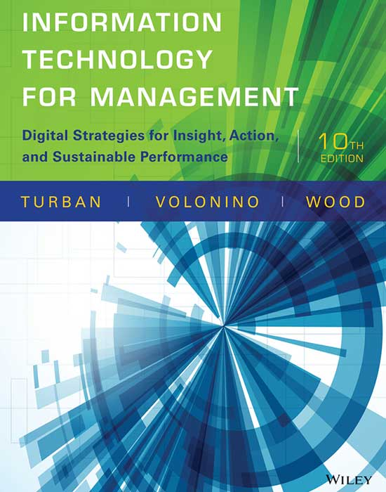Information Technology For Management, 10th Edition