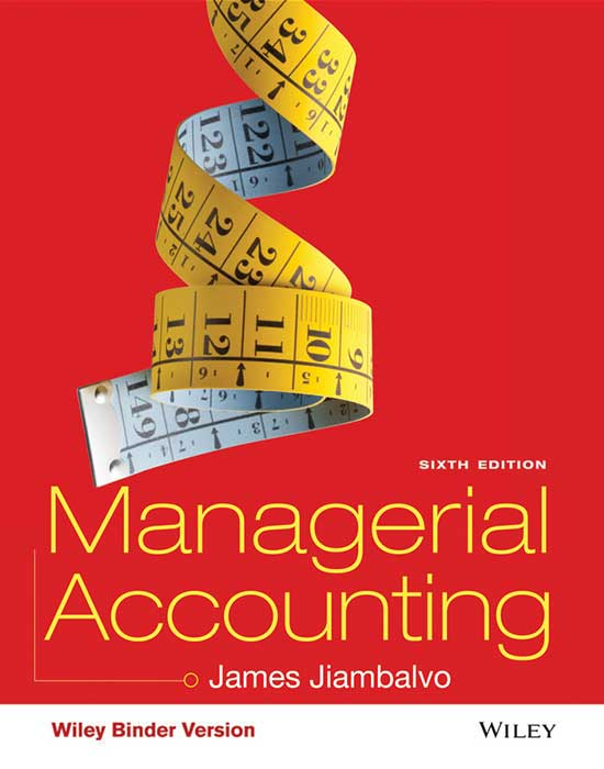 Managerial Accounting, 6th Edition