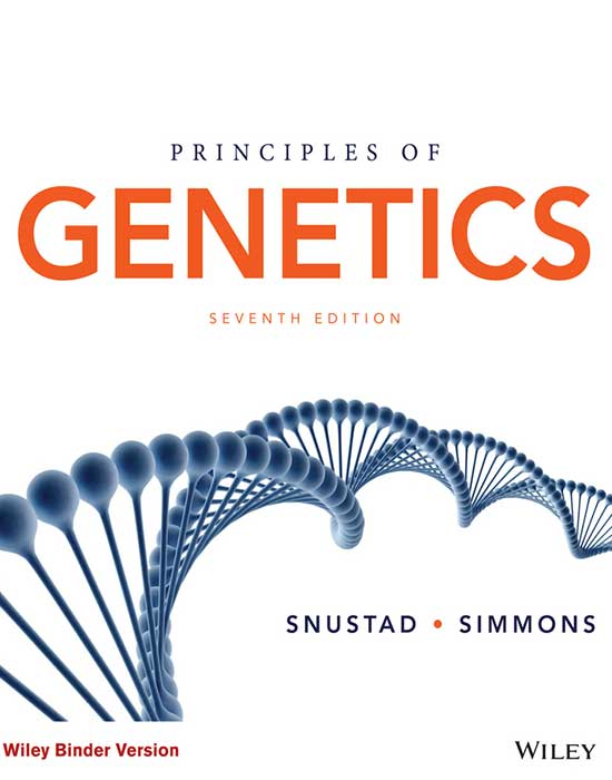 Principles of Genetics 7th Edition